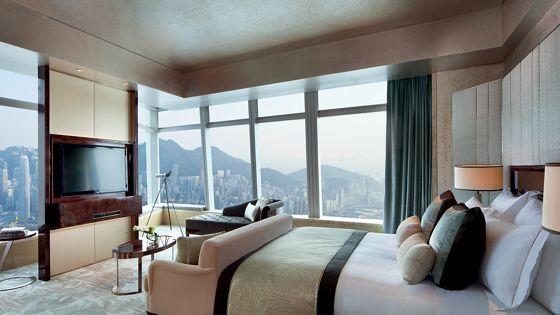 香港旅游住宿预订丽思卡尔顿套房 - 维港海景