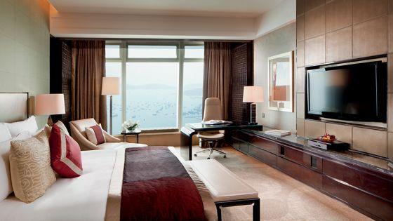 香港奢华住宿 - 特级豪华海景客房