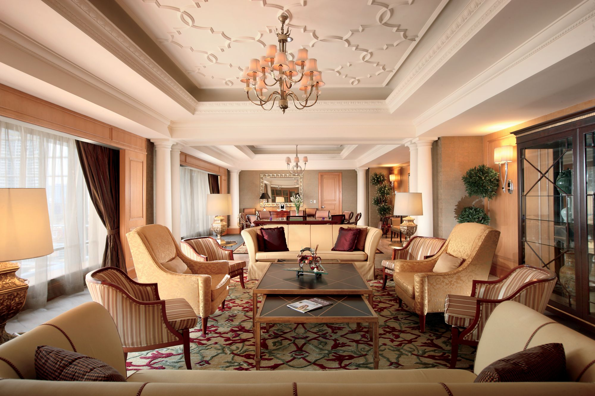 Presidential Suite In Jakarta Indonesia The Ritz Carlton Jakarta Mega Kuningan