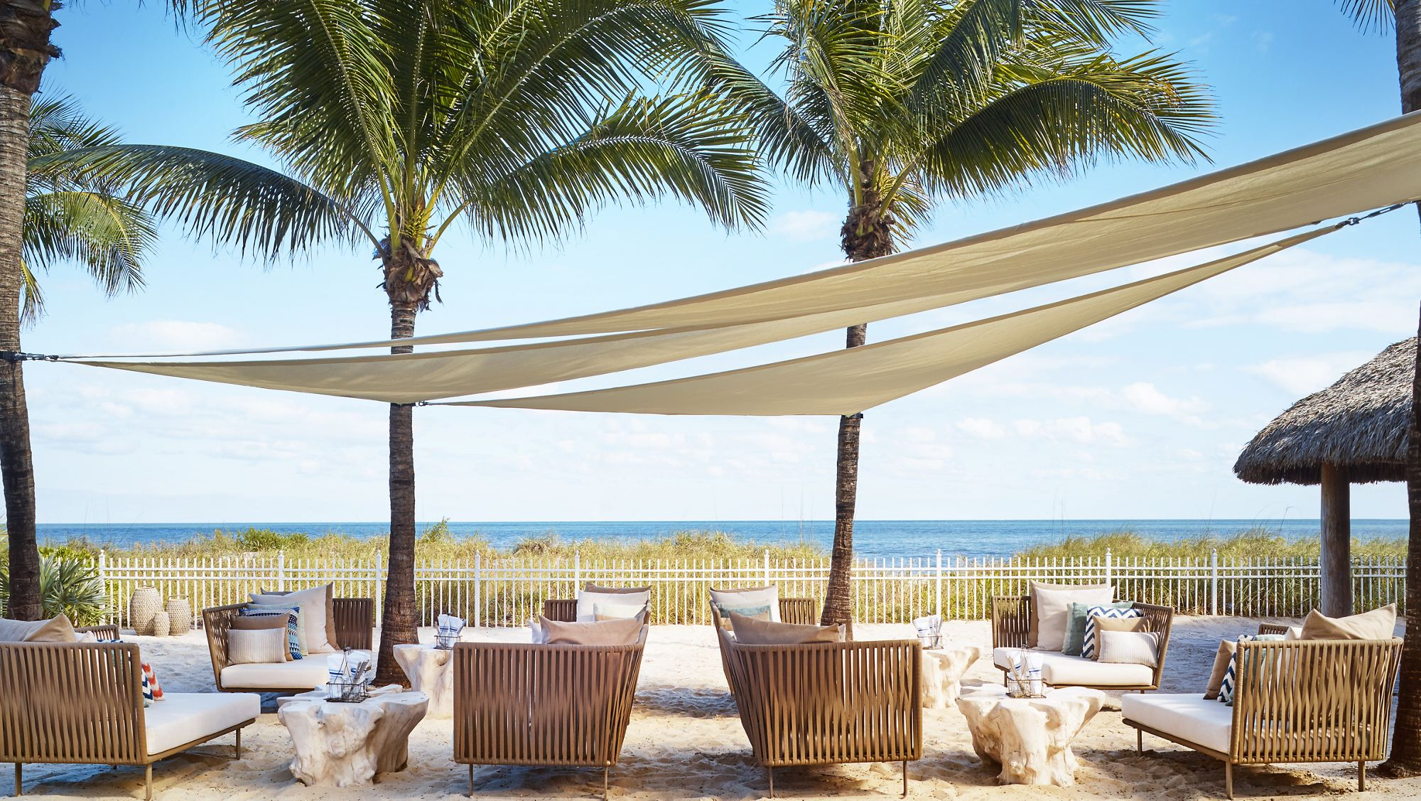 Dune Burgers On The Beach The Ritz Carlton Key Biscayne Miami