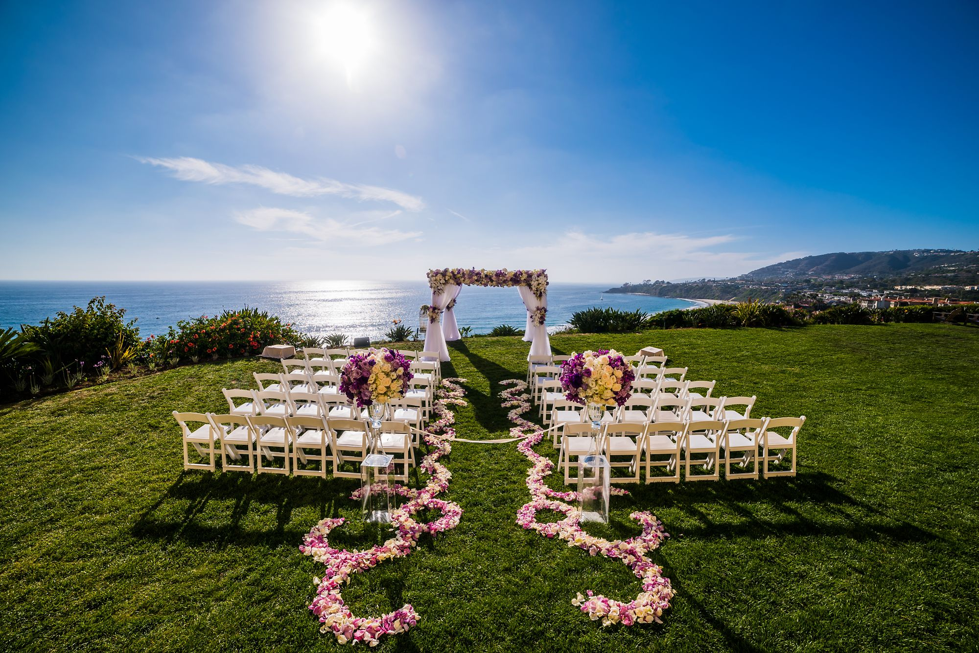 Orange County Wedding Venues The Ritz Carlton Laguna Niguel