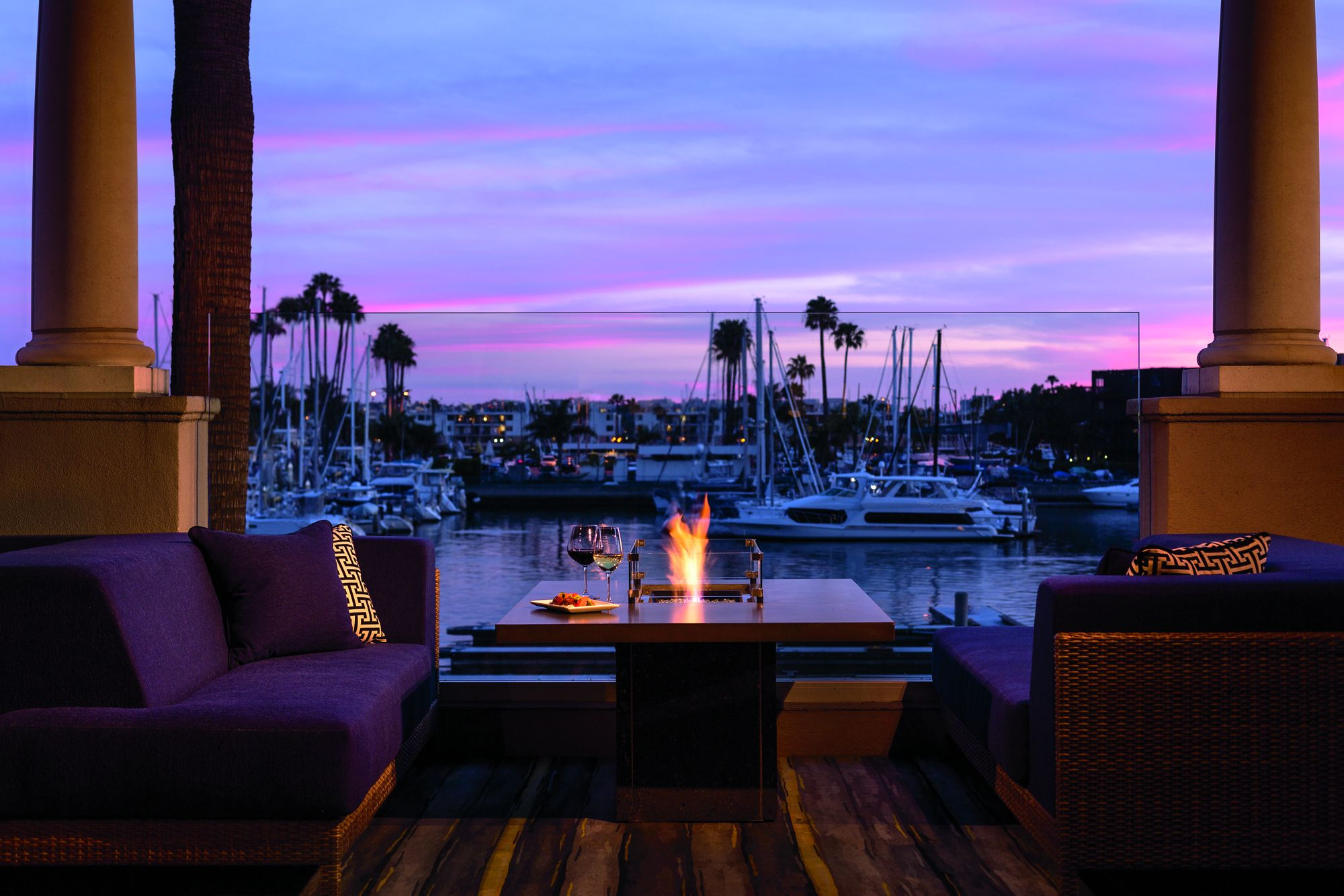 Waterfront Restaurant Marina Del Rey