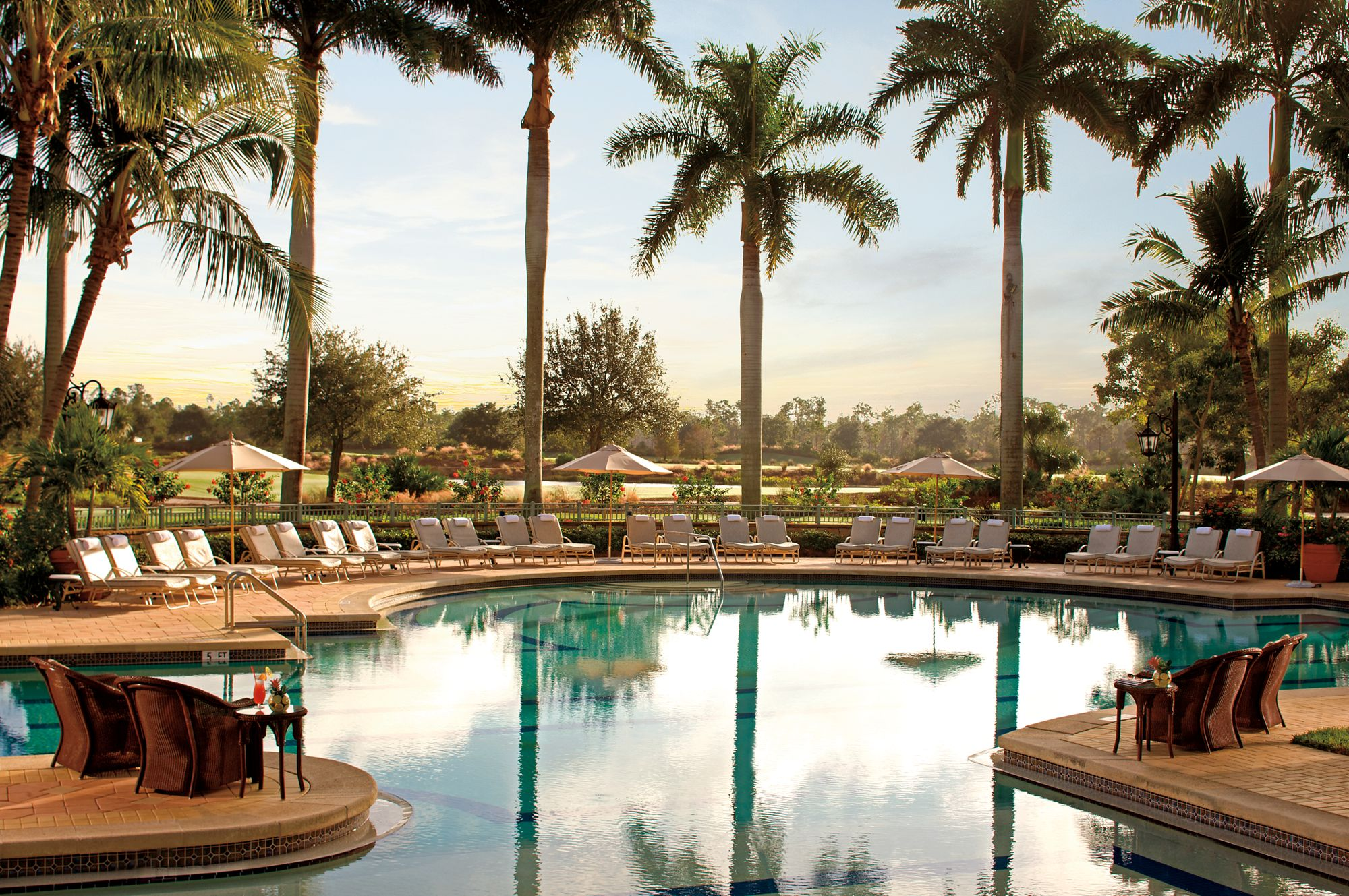 Marvelous Pool Amenities The Ritz Carlton Golf Resort Naples Gmtry Best Dining Table And Chair Ideas Images Gmtryco