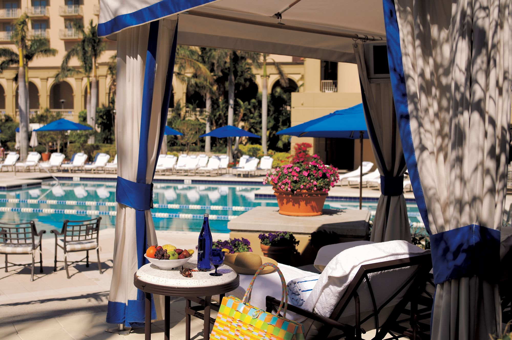Super Pool Amenities The Ritz Carlton Naples Gmtry Best Dining Table And Chair Ideas Images Gmtryco
