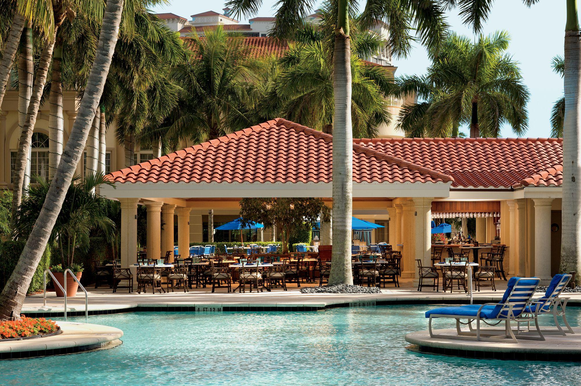 The Poolside Café Ritz Carlton