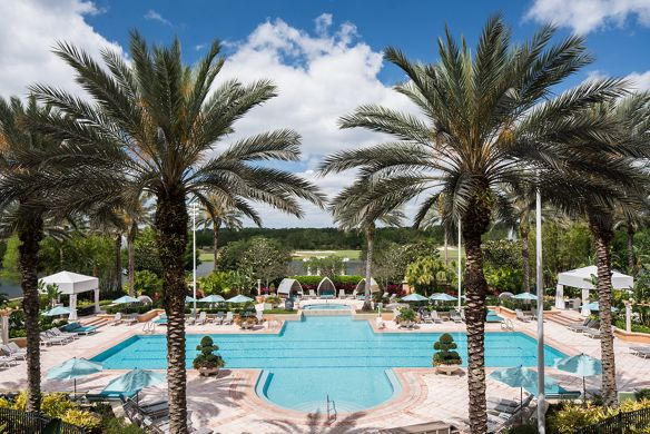 Orlando Hotels With A Lazy River The Ritz Carlton Orlando Grande Lakes