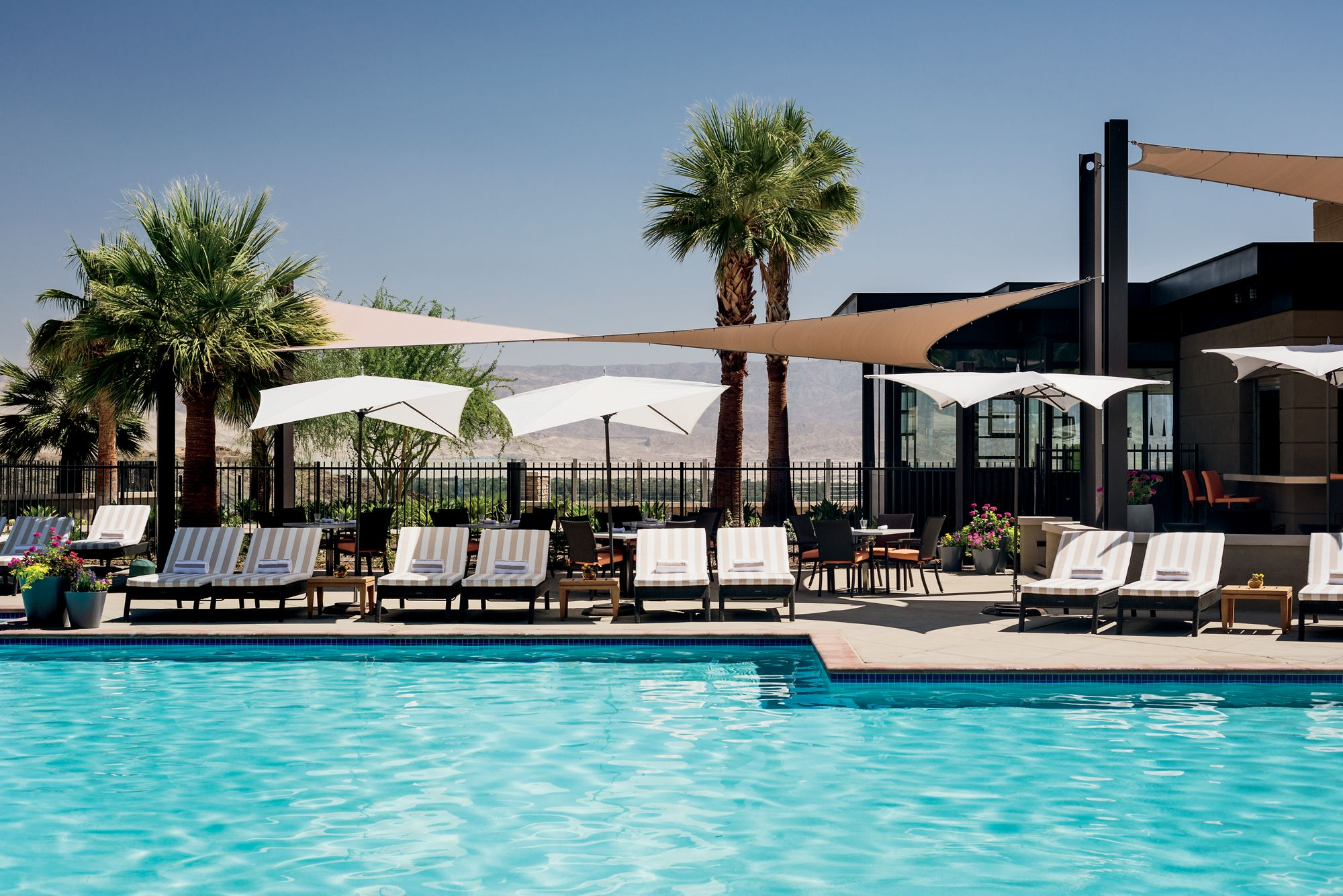 Resort Pools The Ritz Carlton Rancho Mirage