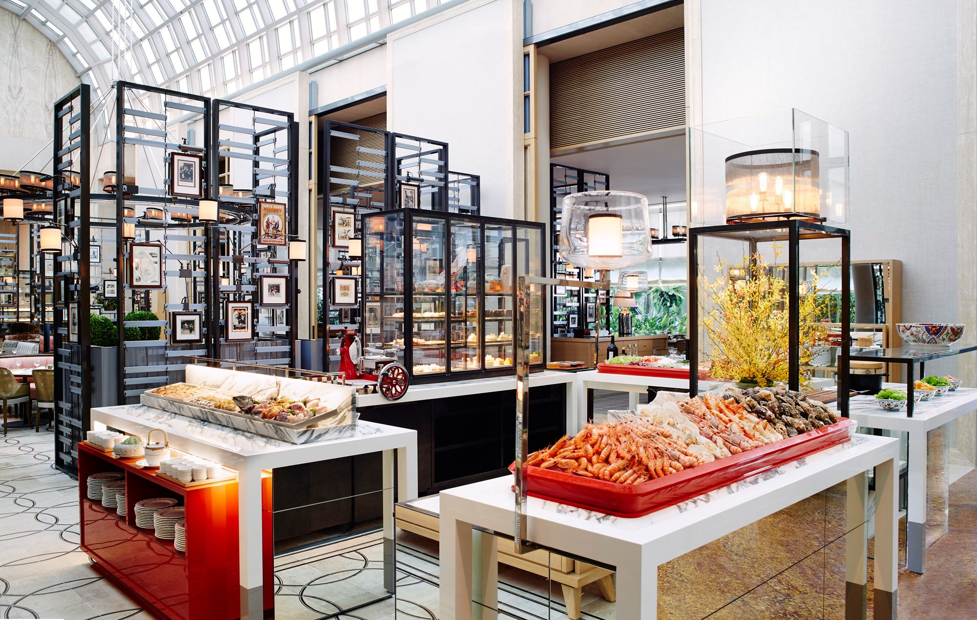 Singapore Restaurants Marina Bay Singapore Afternoon Tea The Ritz Carlton