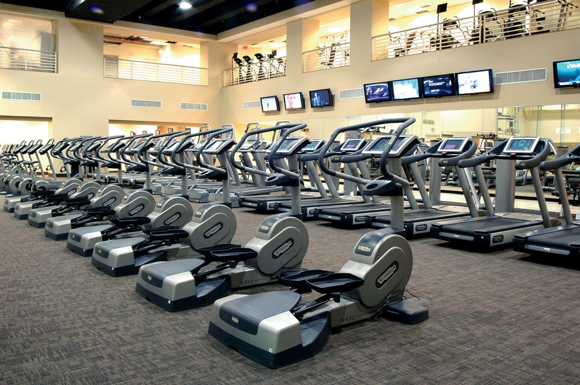 Fitness Center The Ritz Carlton Washington D C