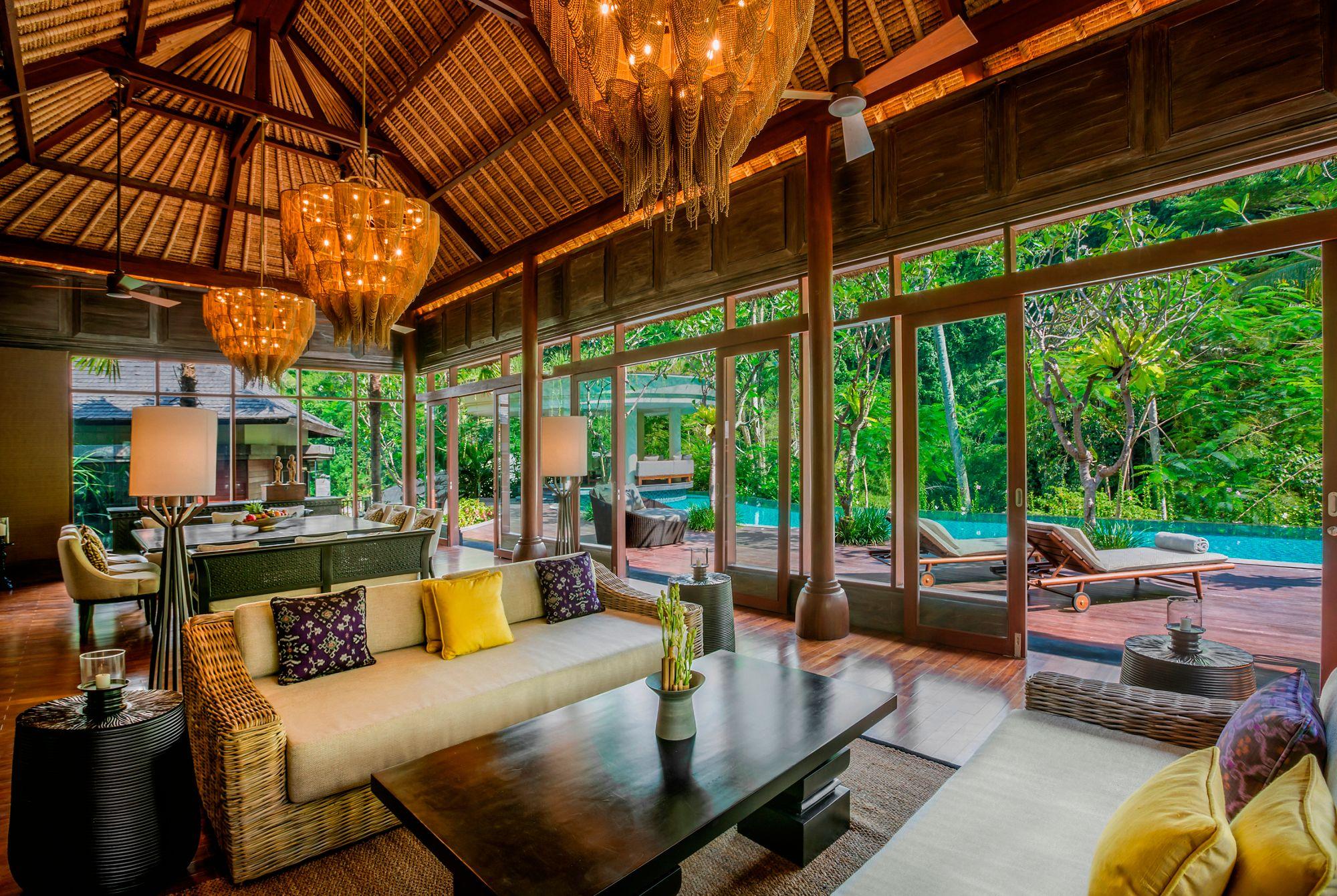 Mandapa Three Bedroom Pool Villa In Bali Mandapa A Ritz Carlton Reserve