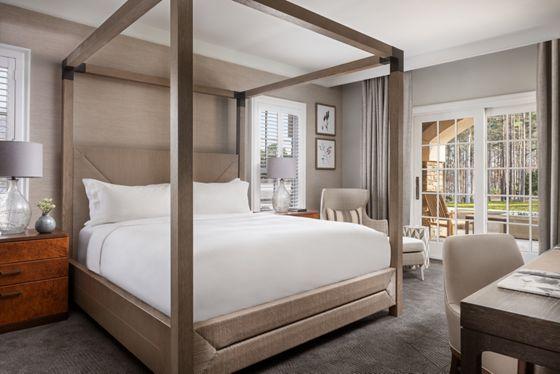 Fireside Suite - Bedroom