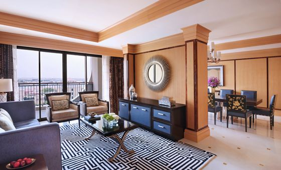 The Ritz-Carlton Suite - Living Room