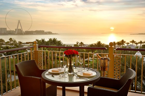 Ocean View Room - Romantic Balcony Setup