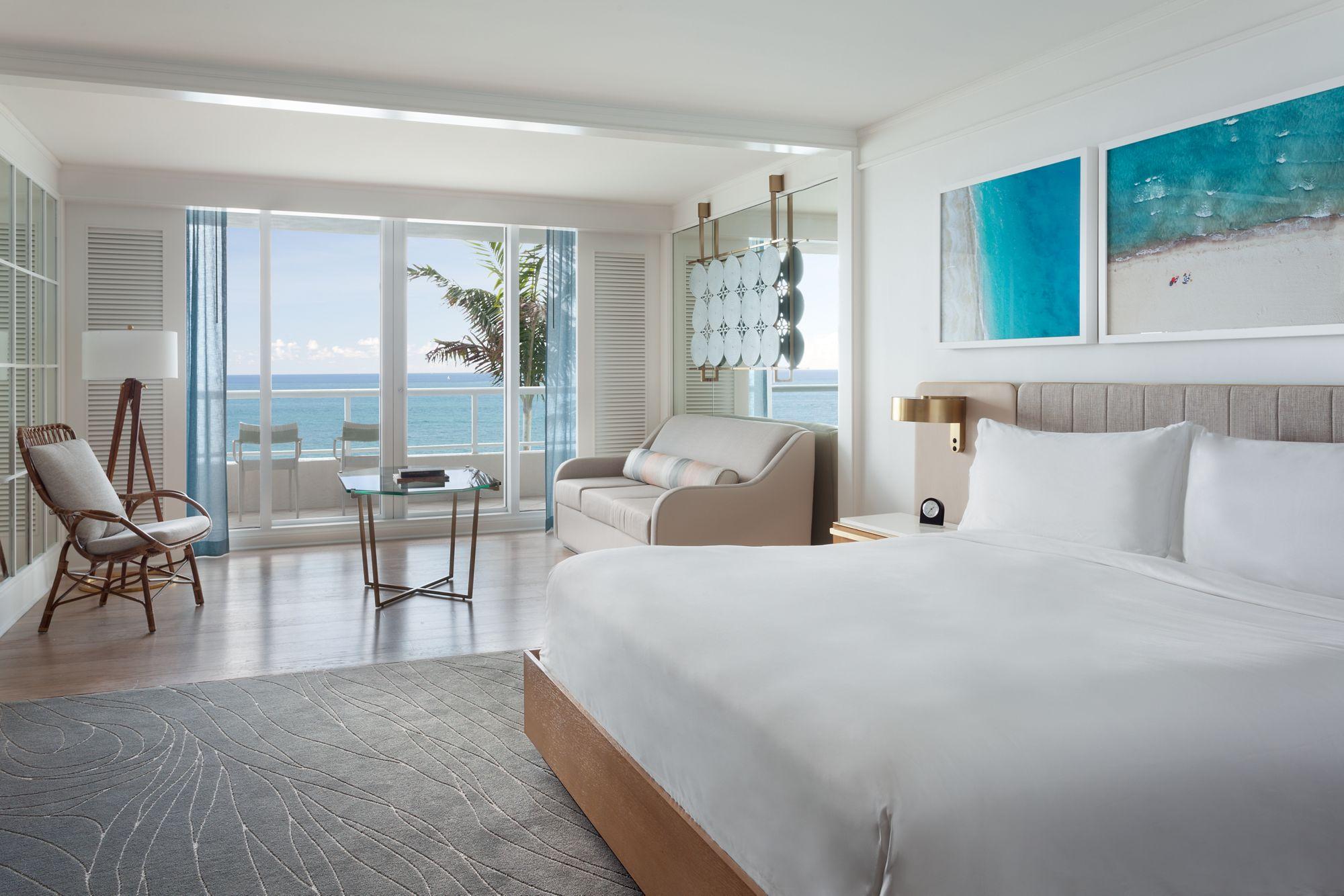 Oceanfront King Low Floor Room