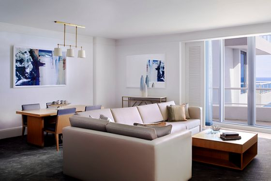 One-Bedroom Ocean Front Residential Suite