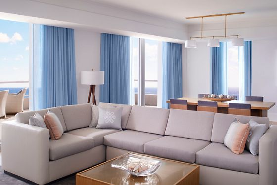 The Ritz-Carlton Residential Suite - Living & Dining Room