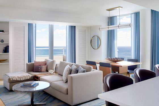 Three-Bedroom Ocean Front Residential Suite