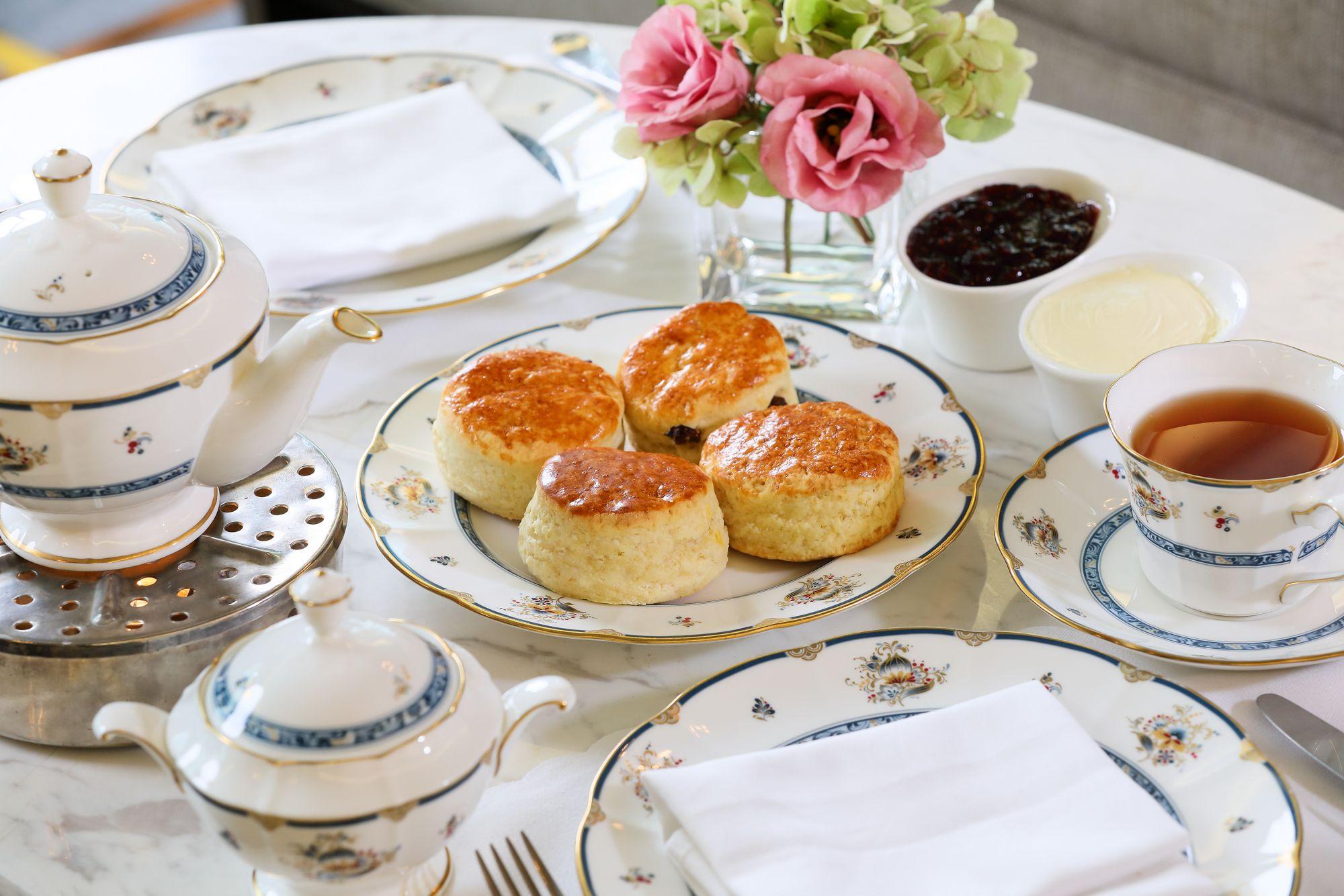 Lobby Lounge - Cream Tea Set