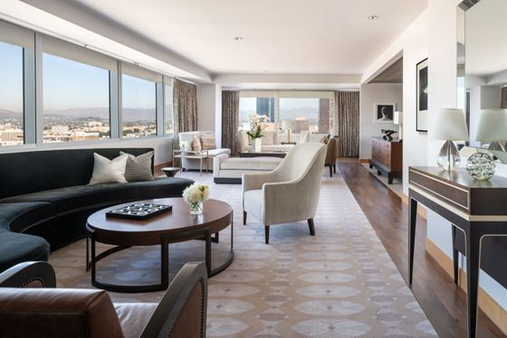 Ritz-Carlton Suite - Living Room