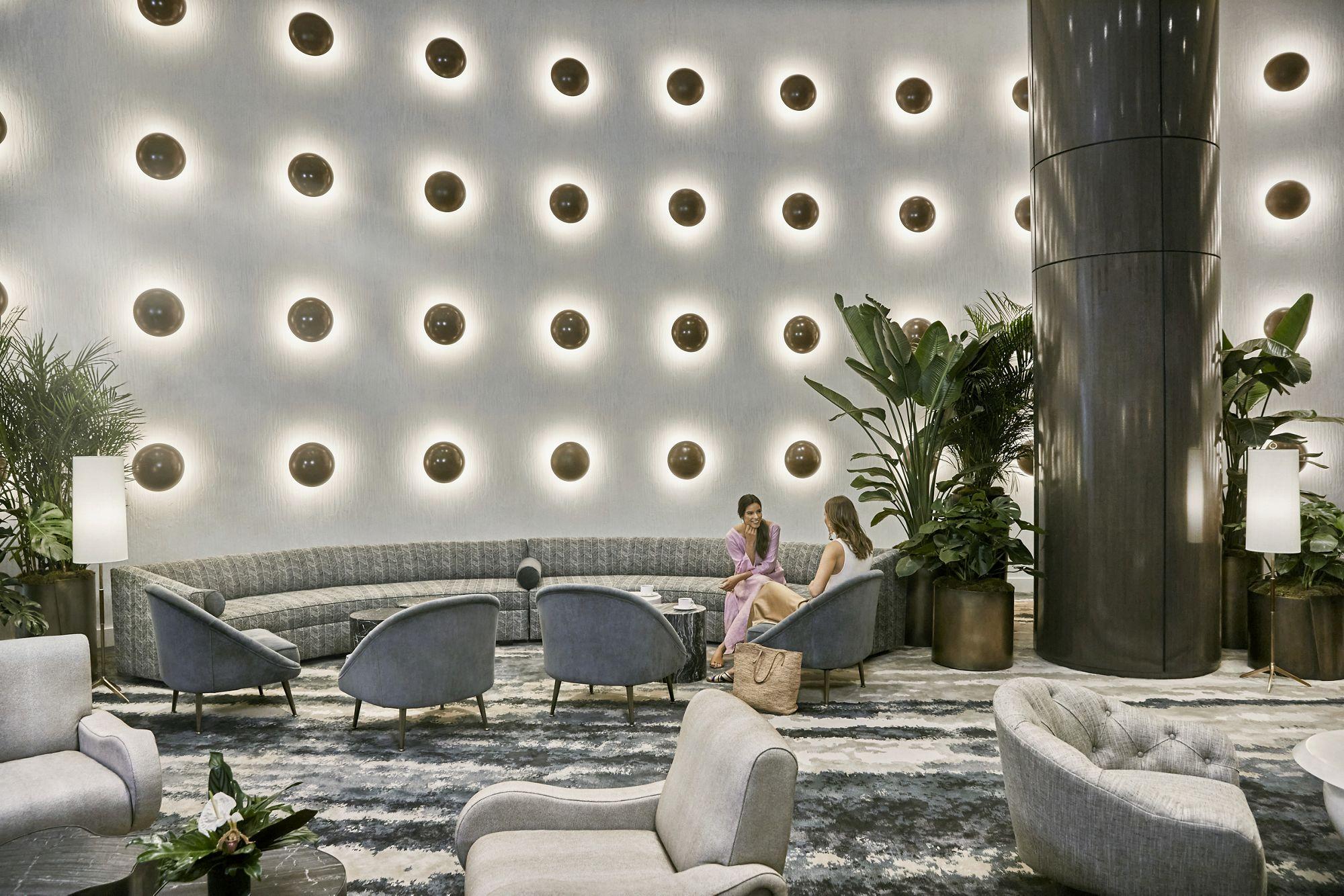 Lobby Light Wall