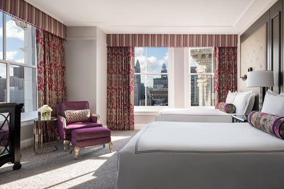 Deluxe Double/Double City View Room