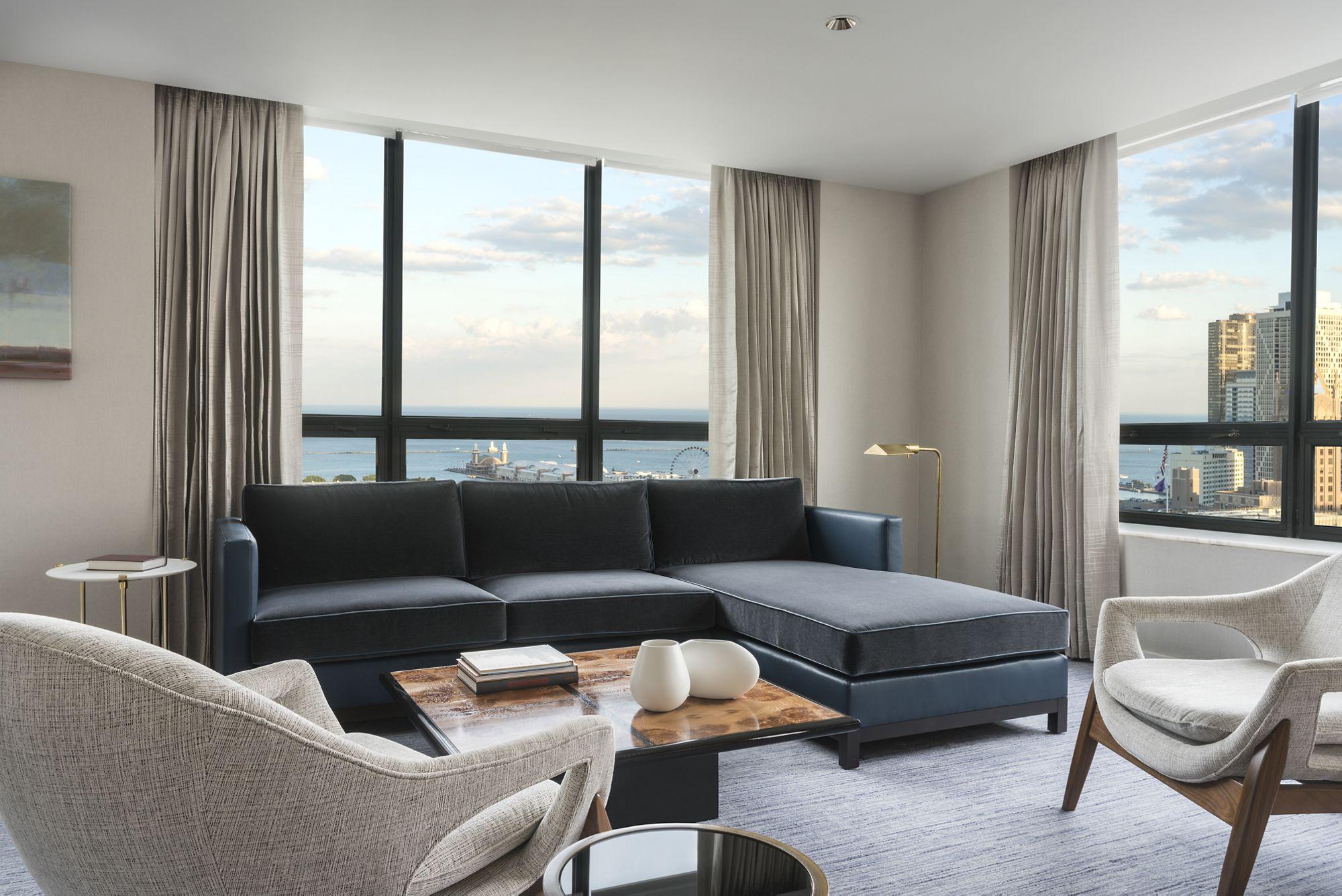Super Navy Pier Two Bedroom Suite The Ritz Carlton Chicago Beutiful Home Inspiration Ponolprimenicaraguapropertycom