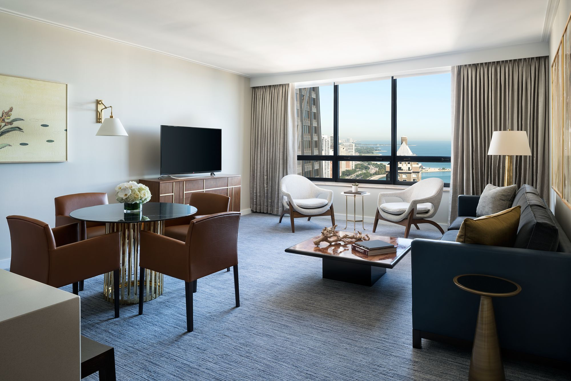 Two Bedroom Apartment The Ritz Carlton Chicago
