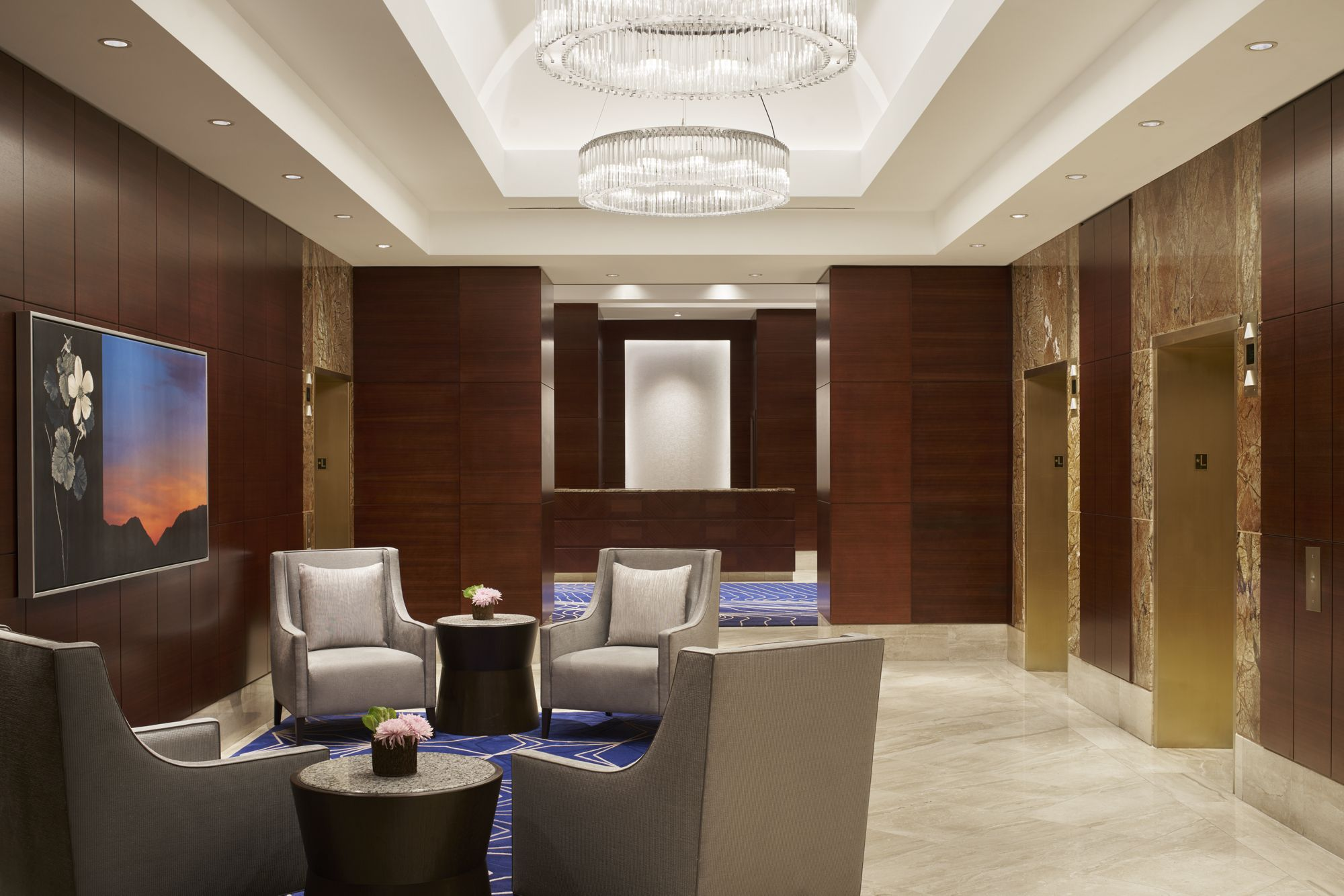 Lobby & Meeting Space Redesign | The Ritz-Carlton, Denver