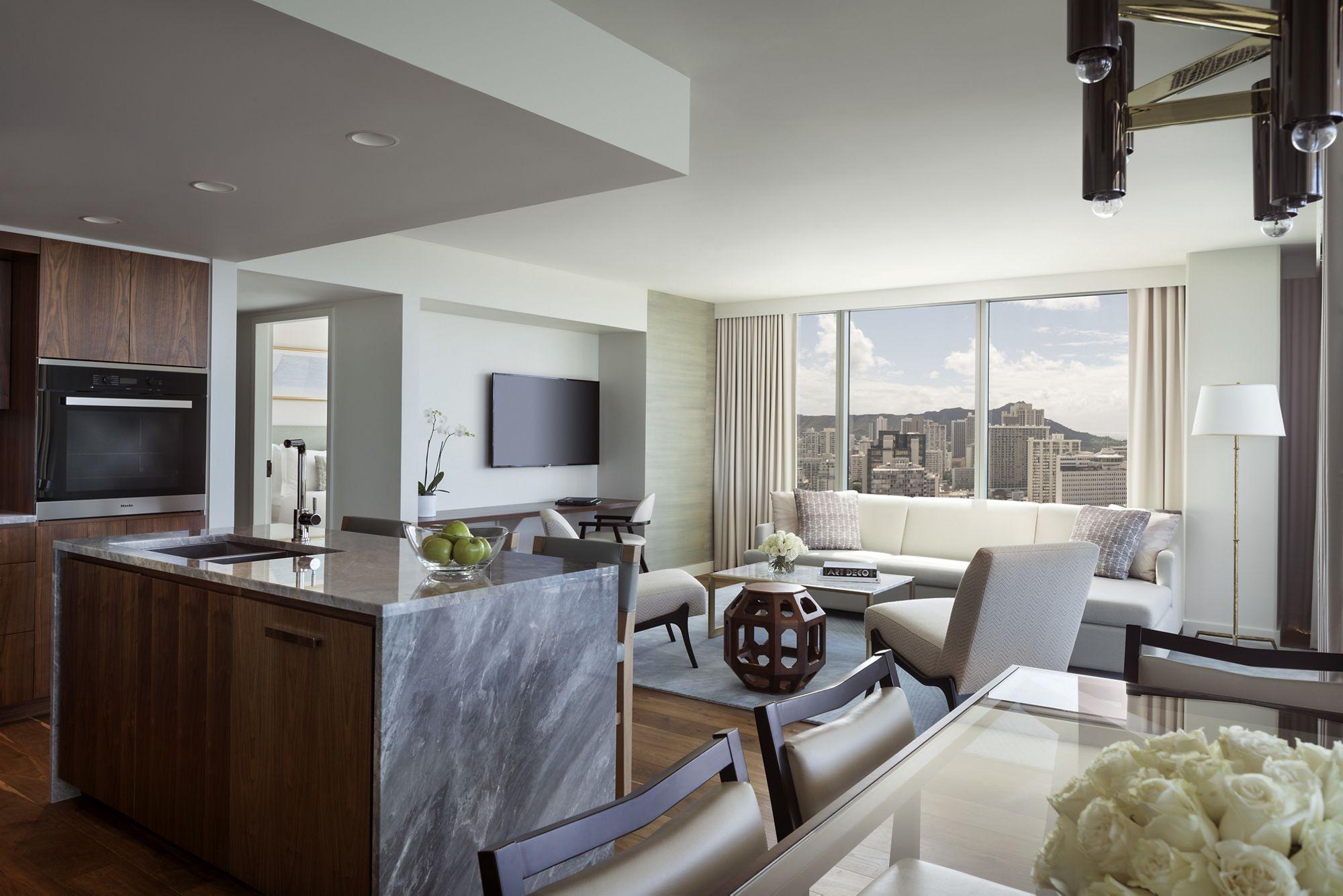 Grand Ocean View 3 Bedroom Suite The Ritz Carlton Waikiki Beach