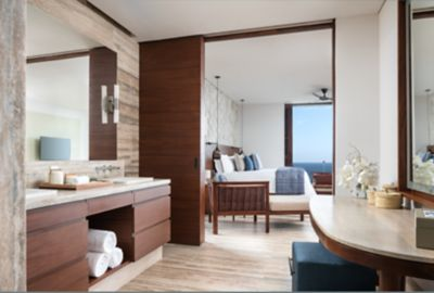 Infinity Ocean View Suite - King Bedroom