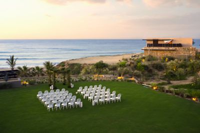 Garden Terrace Beachfront Wedding