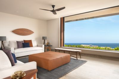 Infinity Ocean View Suite - Living Room