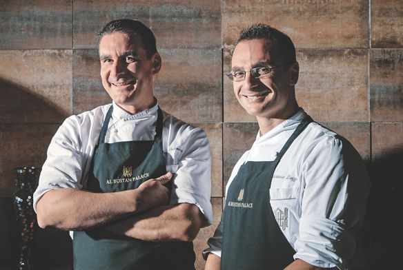 Two chefs from Al Bustan Palace
