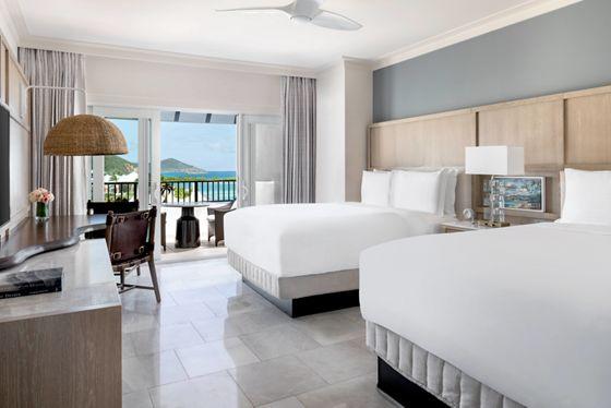 Queen/Queen Guest Room - Ocean View