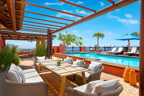 Imperial Suite - Terrace & Pool