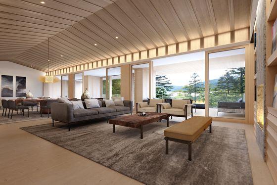 The Ritz Carlton Suite - Living Room