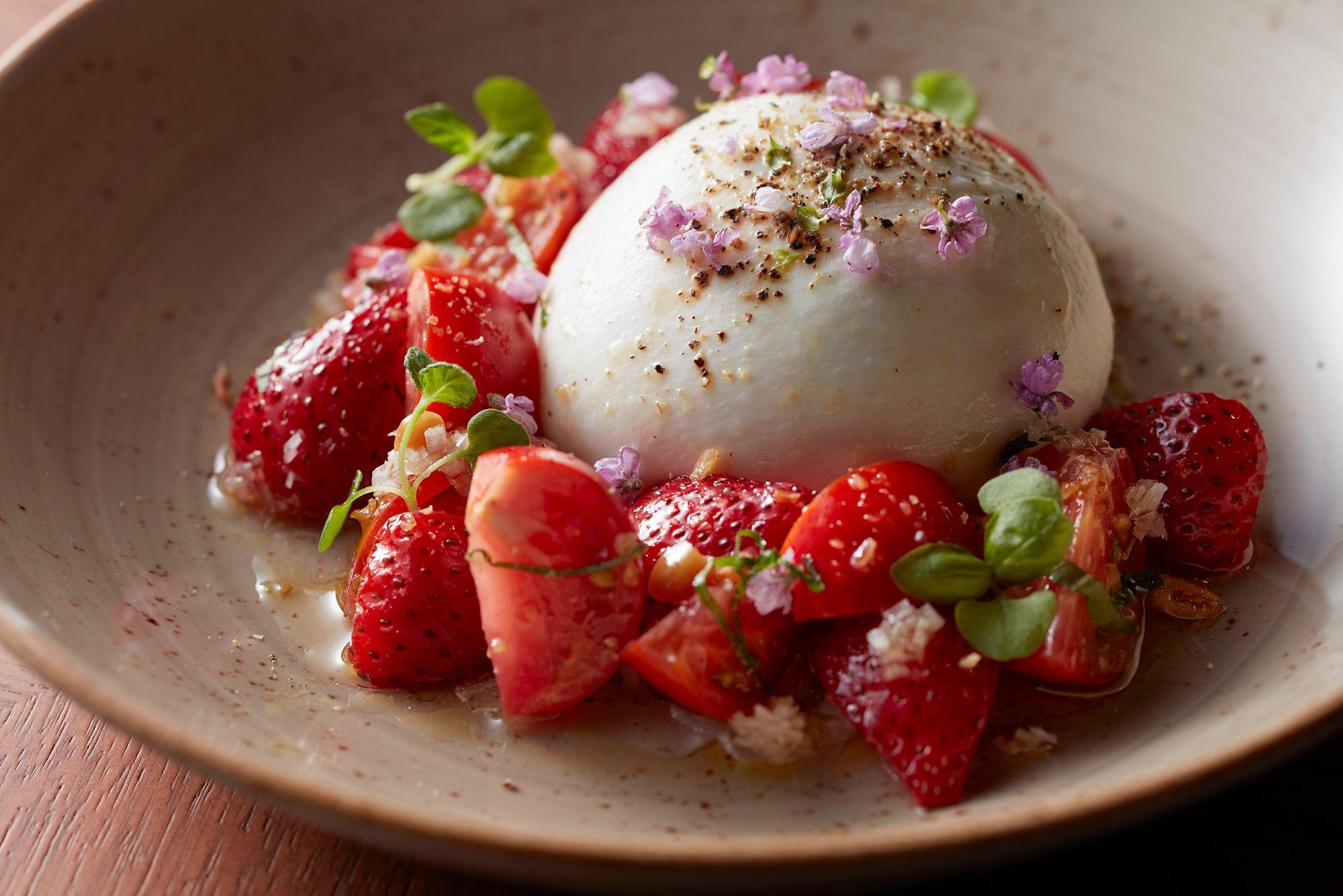 Strawberry and Tomato