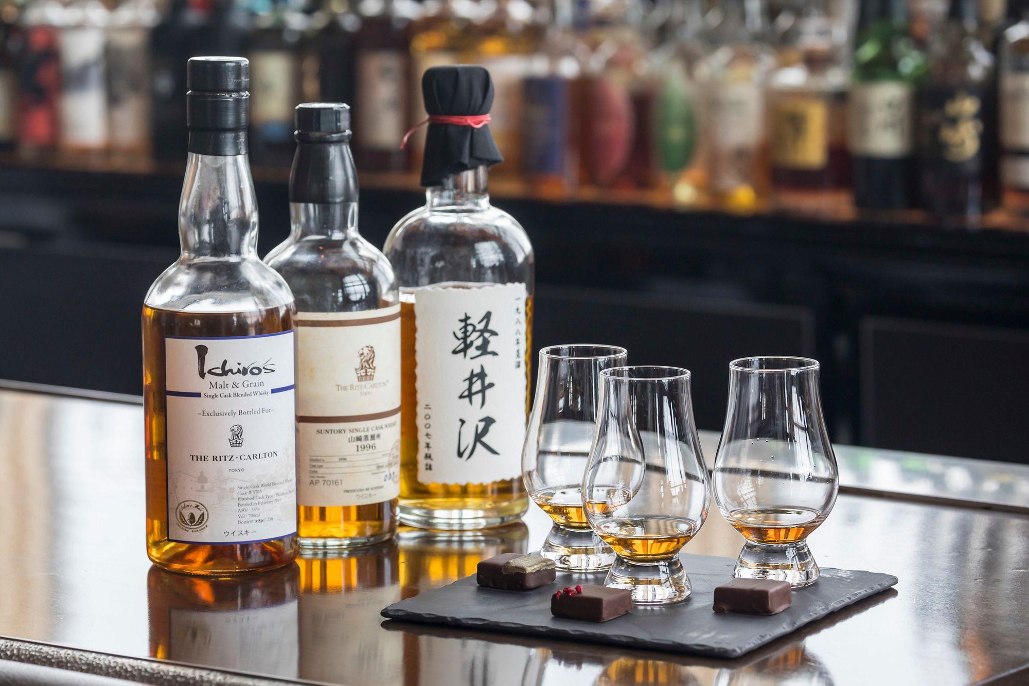 The Bar -Whisky Flight