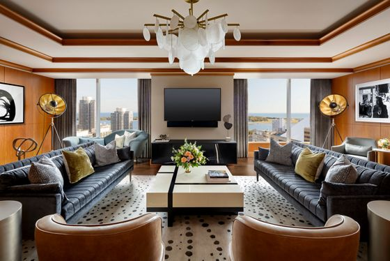 The Ritz-Carlton Suite Living Room