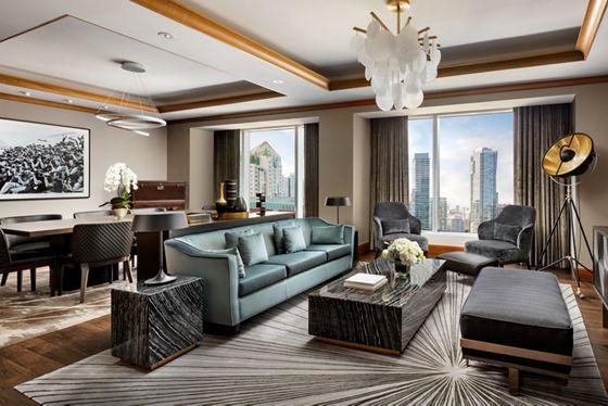 Wellington Suite - Living Room