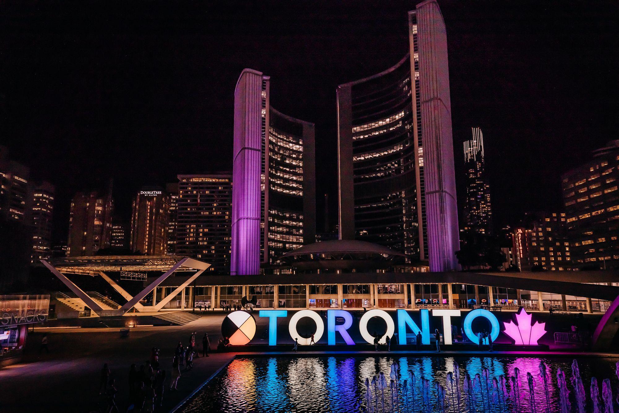 New City Hall - Toronto Sign