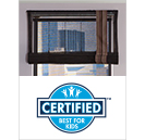 EZ Rise Cordless Shades Best for Kids Certified
