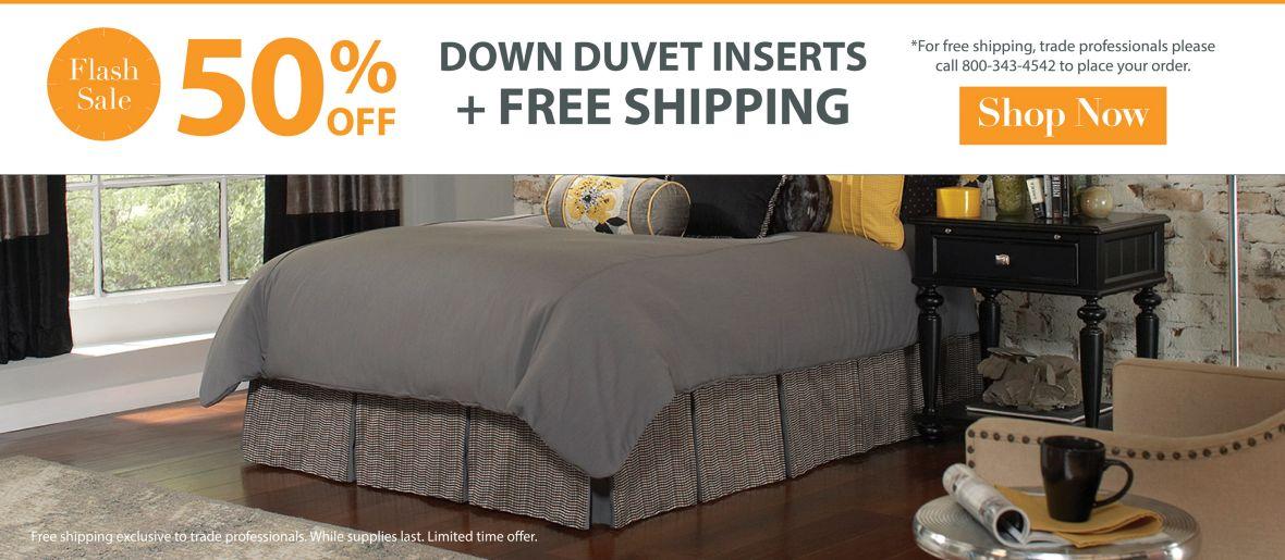 Duvet Flash Sale