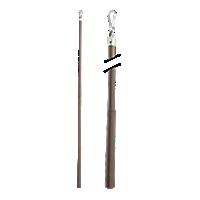 "Metal Baton with Steel Clip - 36"" /BZ"