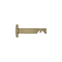 "1 1/8"" H-Rail Wall Bracket 3 1/2"" Projection /AB"