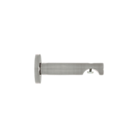 "1 1/8"" H-Rail Wall Bracket 3 1/2"" Projection /BN"