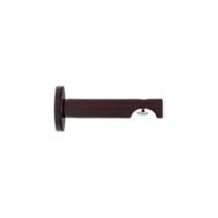"1 1/8"" H-Rail Wall Bracket 3 1/2"" Projection /ORB"