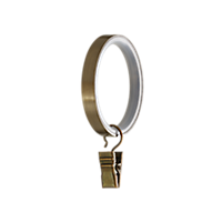 "1 1/8"" Ring with Clip /AB"