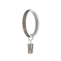 "1 1/8"" Ring with Clip /BN"