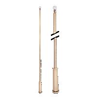 """36"""" Baton with Plastic Attachment /TK"""